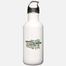 Ironman Triathlon Jargon Water Bottle