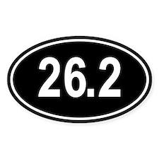26.2 Marathon Oval Decal