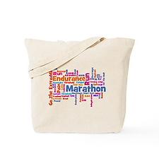 Runner Jargon Tote Bag