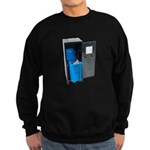 Recycling School Items Sweatshirt (dark)