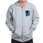 Recycling School Items Zip Hoodie