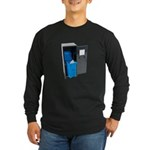 Recycling School Items Long Sleeve Dark T-Shirt