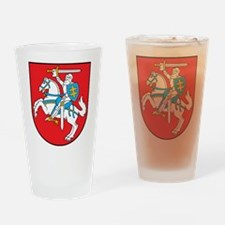 Lithuania Drinking Glass