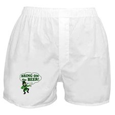 Bring On The Beer Boxer Shorts