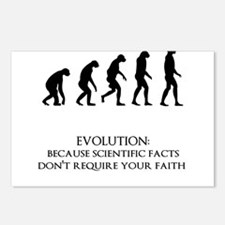 I love evolution Postcards (Package of 8)