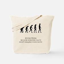 I love evolution Tote Bag