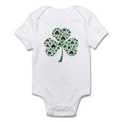 Irish Shamrocks Infant Bodysuit