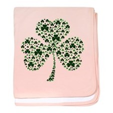 Irish Shamrocks baby blanket