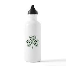 Irish Shamrocks Water Bottle
