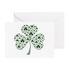 Irish Shamrocks Greeting Cards (Pk of 20)