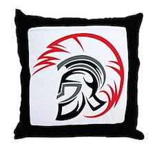 Roman Warrior Helmet Throw Pillow