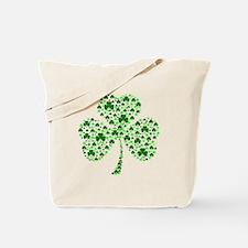Irish Shamrocks Tote Bag