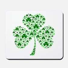 Irish Shamrocks Mousepad