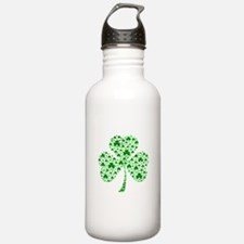 Irish Shamrocks Water Bottle