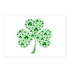 Irish Shamrocks Postcards (Package of 8)
