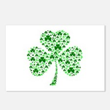 Irish Shamrocks Postcards (Package of 8)