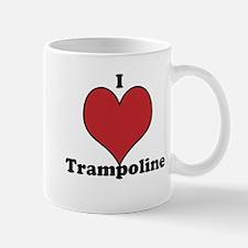 I Love Trampoline Mug