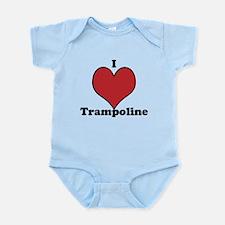 I Love Trampoline Infant Bodysuit