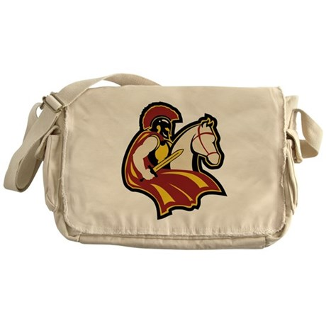 Roman Horseman Messenger Bag