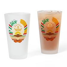 Tajikistan Drinking Glass