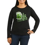 I Want To Be Inside You Women's Long Sleeve Dark T