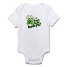 I Want To Be Inside You Infant Bodysuit