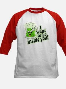 I Want To Be Inside You Kids Baseball Jersey