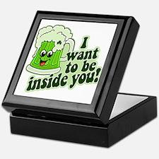 I Want To Be Inside You Keepsake Box