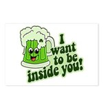 I Want To Be Inside You Postcards (Package of 8)