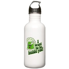 I Want To Be Inside You Water Bottle