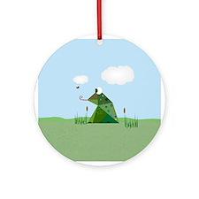 Froggie Ornament (Round)