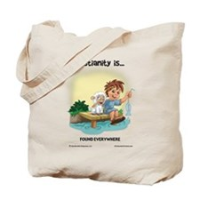 Found Everywhere Tote Bag