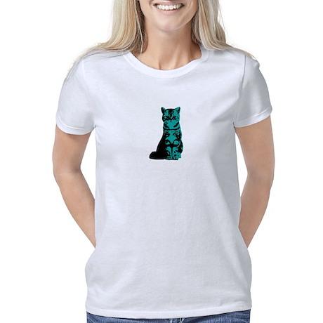 Annie (White Pearl Dots) Kids Dark T-Shirt