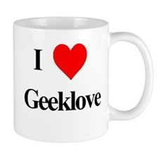 I Heart Geeklove Mug