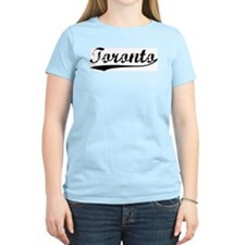 Vintage Toronto Women's Pink T-Shirt