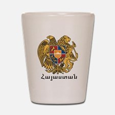 Armenia Emblem Shot Glass