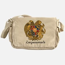 Armenia Emblem Messenger Bag