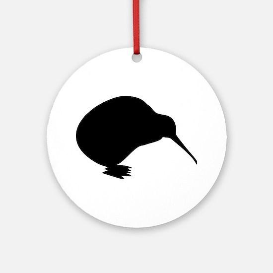 Kiwi bird Ornament (Round)