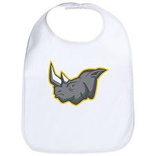 Rhinoceros Bib