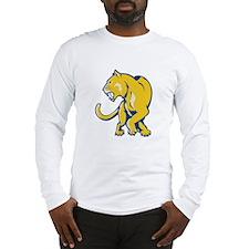 Saber Tooth Tiger Long Sleeve T-Shirt