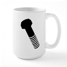 Black screw Mug