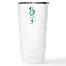 Green Musketeer Travel Mug