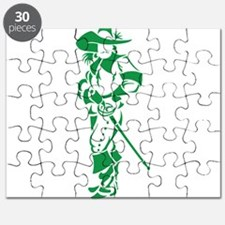 Green Musketeer Puzzle
