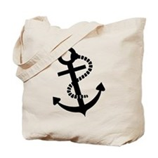 Anchor ship boat Tote Bag