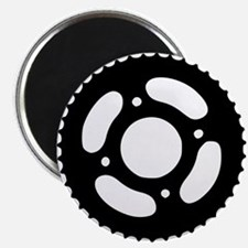 "Bicycle gear 2.25"" Magnet (100 pack)"