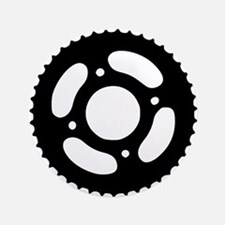 "Bicycle gear 3.5"" Button"