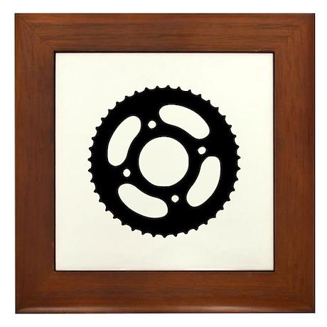 Bicycle gear Framed Tile