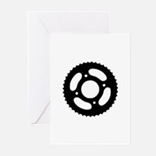 Bicycle gear Greeting Cards (Pk of 10)