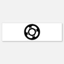 Bicycle gear Bumper Bumper Sticker