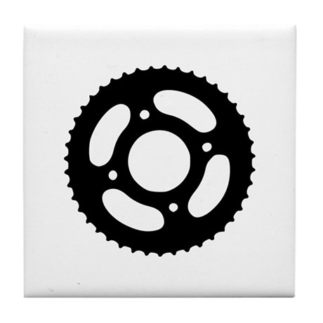 Bicycle gear Tile Coaster